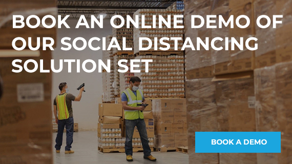 ONLINE DEMO of Social Distancing Solution set